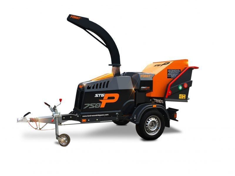 New eco-friendly chipper for use on London tree surgery jobs
